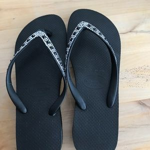 Havaianas Crystal flip flops